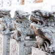 Stone dragon from Bangkok, Thailand — Stock Photo