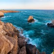 Sea rocky Caves in Ayia Napa, Cyprus — Stock Photo