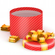 Opened red gift box — Stockfoto #26057001