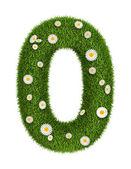 Doğal çim numarası 0 — Stok fotoğraf