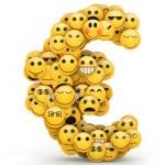 Emoticons  euro — Stock Photo #29994203