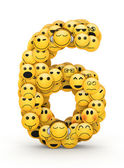 Emoticons number 6 — Stock Photo