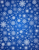 Vector frosty snowflakes background — Stock Vector