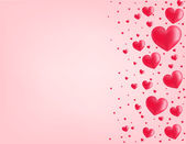 Valentine card vector illustration background — Stock Vector