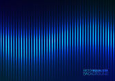 Vector Illustration of a Blue Music Equalizer — Stock Vector
