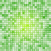 Abstract square pixel mosaic background — Stock Vector