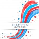 Bağımsızlık günü tasarım vektör çizim — Stok Vektör