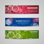 A set of modern vector banners — Cтоковый вектор