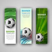 A set of modern vector banners — Stock Vector