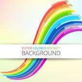 Art rainbow abstract vector background — Stock Vector