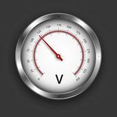 Voltmeter — Stock Vector