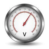 Spannungsmesser — Stockvektor