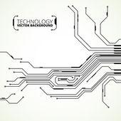 Circuit board background texture — Stock Vector