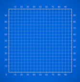 Blueprint squared paper sheet. — Vetorial Stock