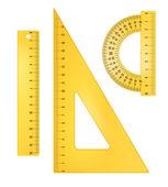 Ruler instruments — Stock Vector
