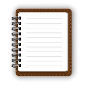 Papier notesach — Wektor stockowy