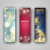 A set of modern vector banners — Stock Vector