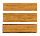 Vector wood planks — Stock Vector