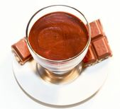 CHOCOLAT MOUSSE — Stock Photo