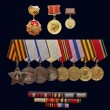 Medal of the Order of 1941-1945 - Stock Photo