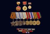 La medalla de la orden de 1941-1945 — Foto de Stock