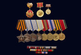 Medalha da ordem de 1941-1945 — Foto Stock