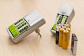 Storage batteries — Stock Photo