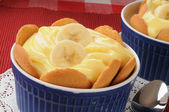 Banana pudding — Stock Photo