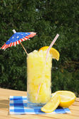 Frozen lemonade in the summer — Stock Photo