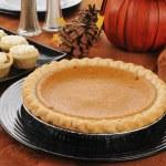 Pumpkin pie — Stock Photo #13123064