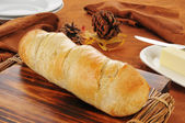Fresh baked Italian Bread — Stock Photo