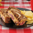 Stock Photo: Reuben Sandwich