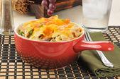 Tuna casserole dish — Stock Photo
