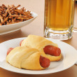 Stockfoto: Pigs in blanket
