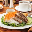 Vietnamese beef salad - Stock Photo