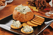 Spinach dip — Stock Photo