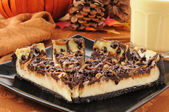 Turtle cheesecake — Stock Photo
