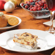 Cranberry stollen with wine — Stock Photo #15628105