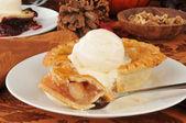 Torta de maçã tamanho individual — Foto Stock