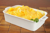 Au gratin potatoes — Stockfoto
