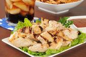 Chicken strips — Stock Photo