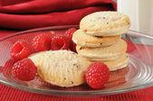 Gourmet shortbread cookies — Stock Photo