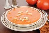 Tomato soup — Stock Photo