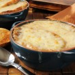 French onion soup — Stock Photo #21601441