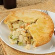 Royalty-Free Stock Photo: Chicken pot pie