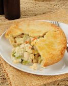 Chicken pot pie — Foto Stock
