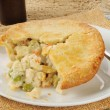 Chicken pot pie — Stock Photo #21855193