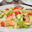 Royalty-Free Stock Photo: Shrimp and Avocado salad