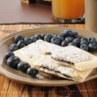 Blueberry toaster tarts - Stockfoto