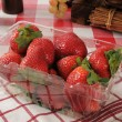 Fresh strawberries - Stockfoto
